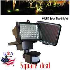 60 LED Garden Outdoor Solar Powerd Motion Sensor Light Security Flood Lamp