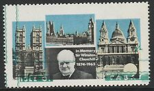 GB Locals - Pabay (1009) 1968 CHURCHILL 2s with green shift upwards