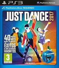 JUST DANCE 2017 17 TEXTOS EN CASTELLANO NUEVO PRECINTADO PS3