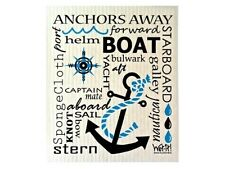 Wet-It Nautical Boat Swedish Kitchen Bathroom Garage Car Dishcloths Towel Cloth
