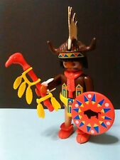 PLAYMOBIL, FIGURA ANTIGUO BRUJO CHAMAN INDIO  INDIAN  INDIOS INDIA WESTERN