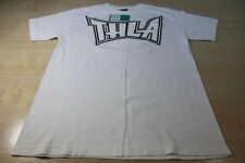 THE HUNDREDS THLA TAPOUT TEE SHIRT WHITE BLACK MEDIUM M ADAM BOMB LOS ANGELES