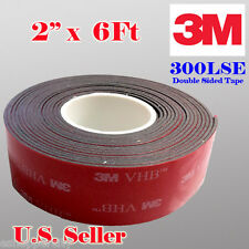 "3M 2"" x  6 FT VHB Double Sided Foam Adhesive Tape 5952 Automotive Mounting 50mm"