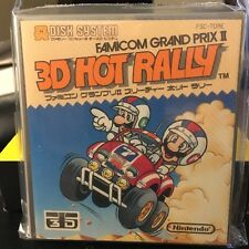 3D Hot Rally Mario Brand NEW Famicon Disk Nintendo Japan Game dk