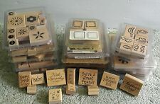 Stampin' Up! Huge Lot of more than 125 stamps, 15 sets - Box 1