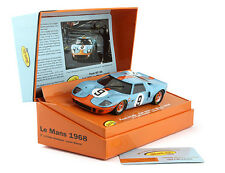 SLOT IT SICW16 FORD GT40 GULF #9  LIMITED EDITION LEMANS 1968 1/32 SLOT CAR
