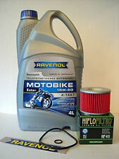 Ravenol Aceite + Filtro de aceite KAWASAKI GPZ1100 Bj 1995-1998