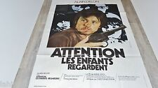alain delon ATTENTION LES ENFANTS REGARDENT !   affiche cinema
