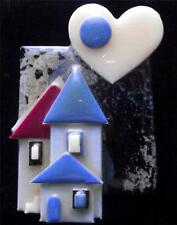 Boxed Modernist Art Deco Vintage Plastic Studio Brooch Pin by Lucinda Yates LY7