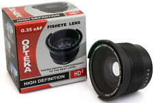 0.35x HD² Super Wide Fisheye Panoramic Macro Lens for Canon EF 50mm f/1.8 II