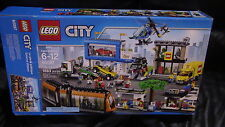 Lego City Square Town Tram Set #60097 Box Only! No Minifigs