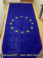 Fahnen Flagge Europa Hoch mit 5 Hacken - 120 x 300 cm