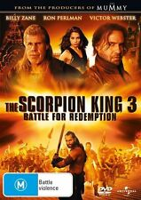 The Scorpion King 3 - Battle For Redemption (DVD, 2012)