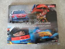 LIVRE TOTAL ELF 2005 DOUBLES POUR L'HISTOIRE     D32