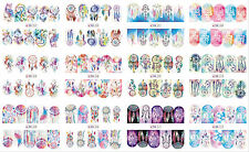 Dream Catcher Nail Art Water Transfer Stickers Decal Tips Bohemia Tribal Feather