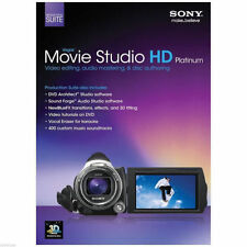Sony vegas movie studio hd platinum suite 11 (pc) retail pour 5 ordinateurs