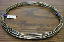 43 feet 18 AWG Silver Plated Copper Bus Wire Solid 1 Strand old stock