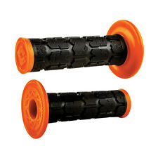 Odi Rogue Dual-Ply MX Grips Black/Orange KTM 125 250 350 450 SX XC XCW XCF SXF