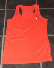 "UK 14 EUR 40 42 SHOCKING PINK REFLECTIVE SPORTS RUNNING VEST TOP CHEST 38"" 97cm"