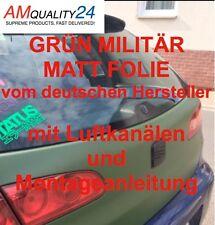 Grün Militär Matt Auto Folie Luftkanäle Car Wrapping selbstklebend 300x152cm