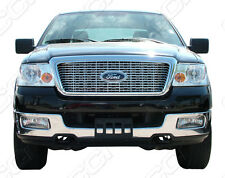 Ford F150 chrome Grille insert mesh grill horizontal billet style trim 04-2008
