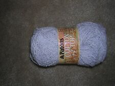 1 SKEIN Patons Cotton Top Yarn Gray (6432) Lot 23030 New/NIP