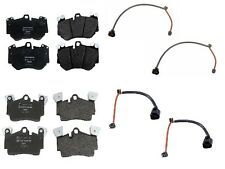 Porsche Cayenne Turbo 2005 TEXTAR Front and Rear Brake Pads with FEBI Sensors