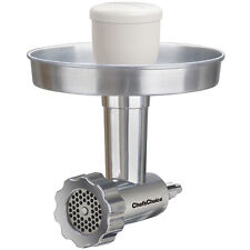 Chef's Choice Premium Food Grinder Attachment for KitchenAid Mixers (Includes Me
