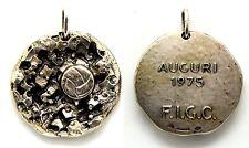 Medaglia Auguri 1975 F.I.G.C. Federazione Italiana Giuoco Calcio (Bertoni) Argen