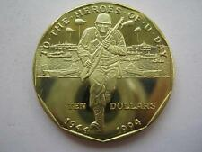 Marshall Islands 1994 Heroes of D-Day Ten Dollars.