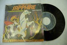 """I CAVALIERI DI SILVERLAND""""LA PRINCIPESSA SAPHIRE-disco 45 giri TRACCIA 1981"""""""