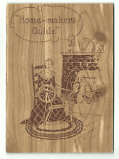 Old ADV Premium Book Homemaker's Guide Price List HOME LAUNDRY Washington DC