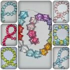20 x Transparent Acrylic Beads - 15mm - Star [Various Colours Available]