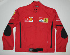 Ferrari Men's Vintage Racing Jacket Embroidered Patches Size XXL