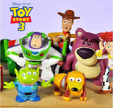 Toy Story Bullseye Woody Buzz Character Action Figures Toy Cake Topper Decor Kid