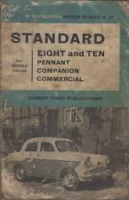 STANDARD 8 EIGHT 10 TEN PENNANT COMPANION COMMERCIAL '53-62 OWNERS REPAIR MANUAL