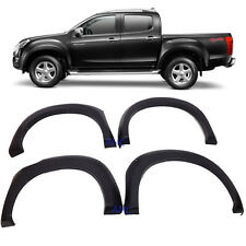 Fit 2012+ Isuzu D-MAX Colorado DMAX Fender Flare 6 Inch + pin Wheel Arch 4 Door