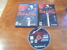 Devil May Cry 1 Sony Playstation 2 PS2 Game Complete !!