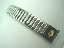 "Mark 7 19mm 3/4"" Mens Vintage Watch Band Stnlss Expansion w/Shriner Attachment"