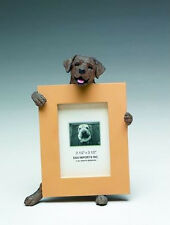 "LABRADOR RETRIEVER (CHOCOLATE) DOG PHOTO PICTURE FRAME FIGURINE 2-1/2"" X 3-1/2"""