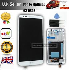 LCD Display Touch Screen Digitizer LG G2 D802 Optimus + Frame White Replacement