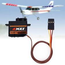 Durable 1 Pc EMax EDX8A II 9Gram Mini Micro Shock proof Servo for 3D RC Plane XD