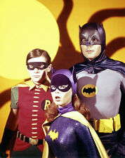 "1966 Batman, Batgirl and Robin 14 x 11"" Photo Print"