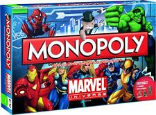 Monopoly MARVEL universe jeu de plateau x-men the Avengers spiderman Ironman allemand