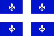 5Ft X 3Ft 5'X3' Flag Quebec Canada Canadian State American