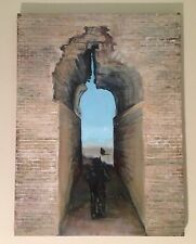 FORBIDDEN IRAQ ORIGINAL OIL PAINTING MILITARY HISTORY US REAL18X24 by D Warren
