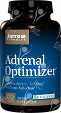 Jarrow Formulas, Adrenal Optimizer, x120tabs;- with GINSENG & RHODIOLA + Much Mo