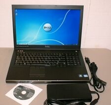 "DELL PRECISION M6600 17.3 "" Core i7-2620M 2.7GHz 2GB AMD M8900 Win7 Backlit KB"