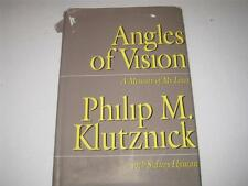 Angles of Vision: A Memior of My Lives by Philip M. Klutznick JEW OF KANSAS CITY