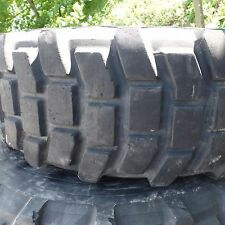 "Michelin XL 15.5 46"" tall tires on offset mrap wheels can fit M35A2 M35A3"